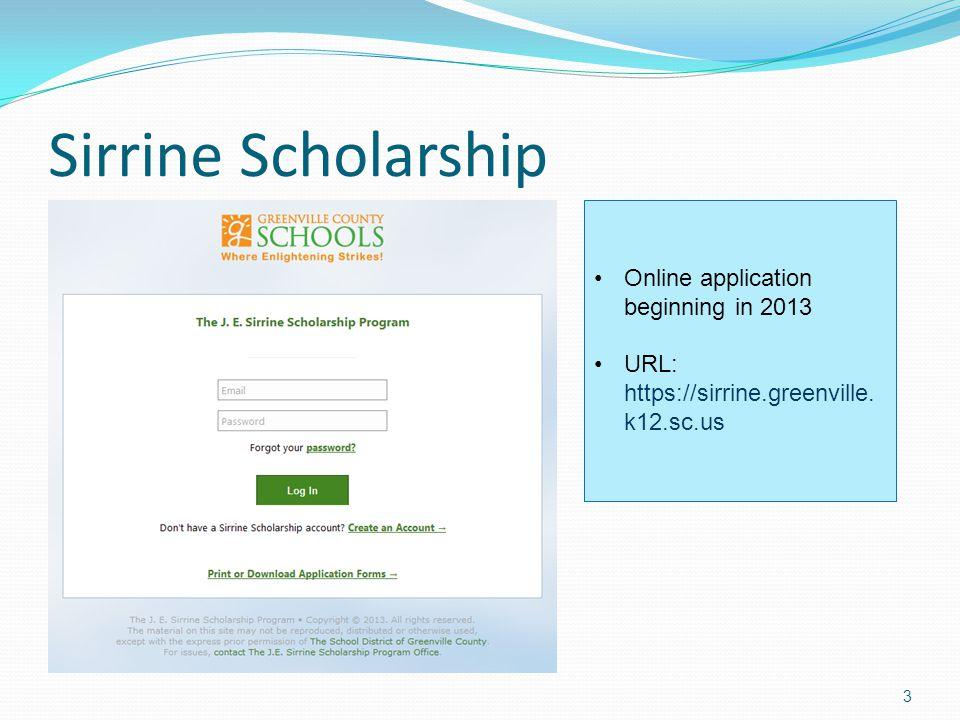 LIFE Scholarship for Two-Year Colleges $5,000 OR up to tuition/fees and $300 towards books Graduate with a minimum 3.0 GPA on uniform grading scale (UGS) No application process; awarded by college To retain: Earn AVERAGE of 30 credit hours/year Earn all-college 3.0 GPA AP/IB classes count in credit hours for renewal Not renewable for students enrolled in certificate or diploma programs 14