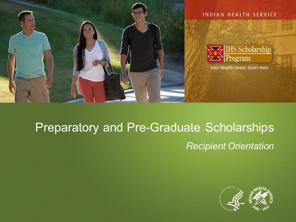 Preparatory and Pre-Graduate Scholarships Recipient Orientation