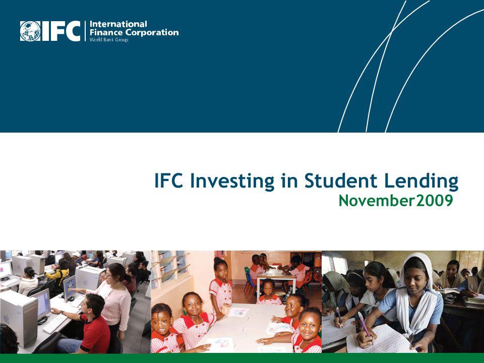 IFC Investing in Student Lending November2009