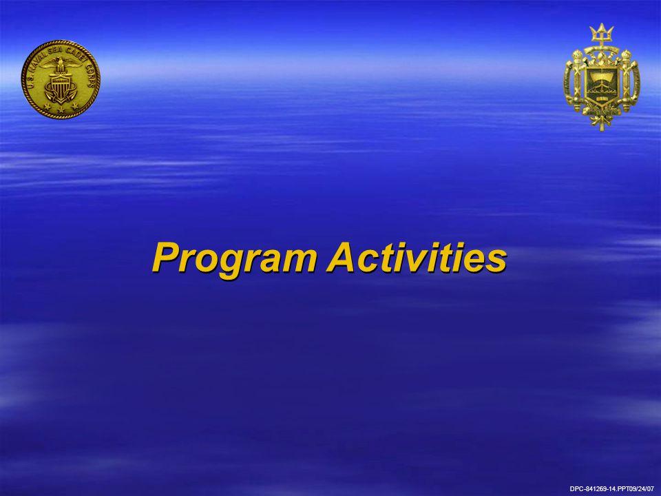 Program Activities DPC-841269-14.PPT09/24/07