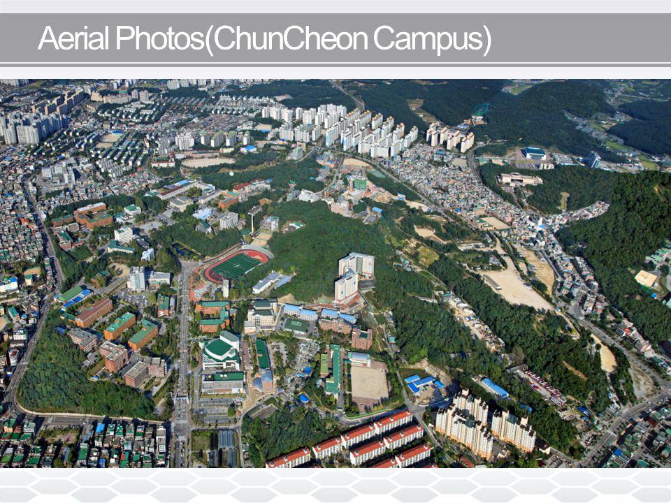 Aerial Photos(ChunCheon Campus)