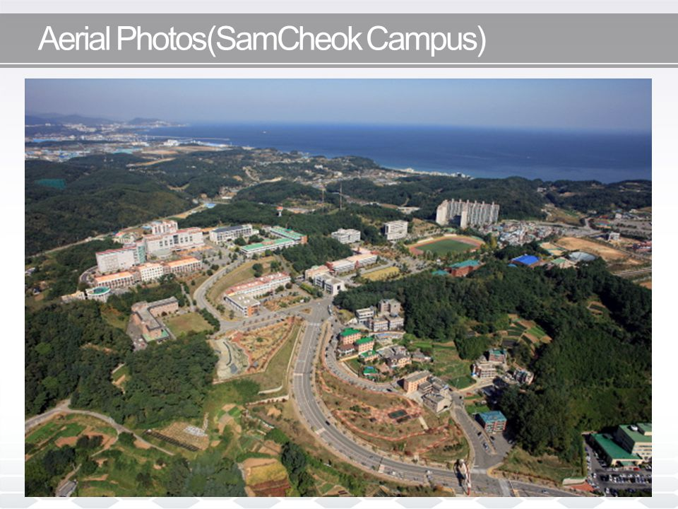 Aerial Photos(SamCheok Campus)