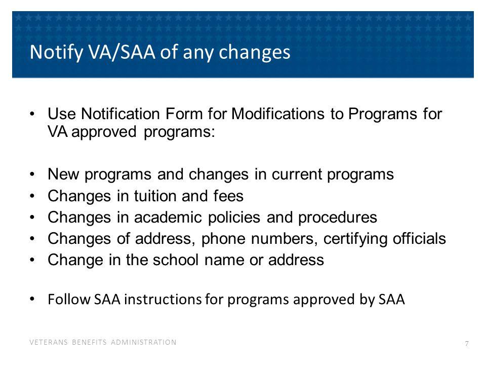 VETERANS BENEFITS ADMINISTRATION VA Form 22-1999 per week.