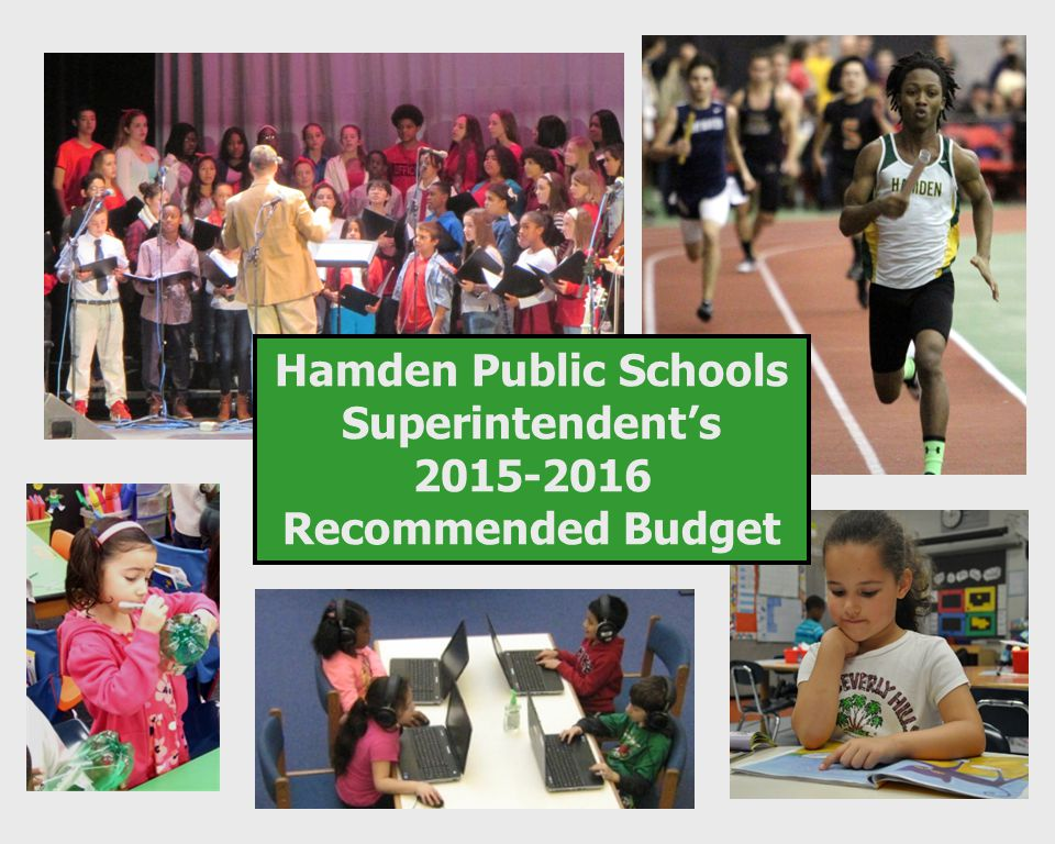 Jody Goeler, Superintendent of Schools Christopher Melillo, Assistant Superintendent Michael Belden, Chief Operating Officer January 28, 2015 Dear Board of Education Members: It is my privilege to submit the 2015-2016 Superintendent's proposed budget.
