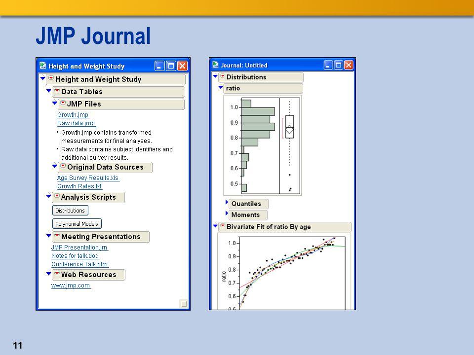 JMP Journal 11