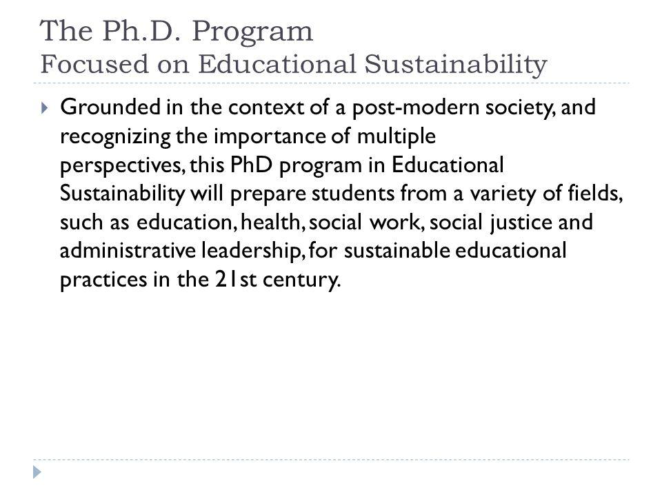 The Ph.D.