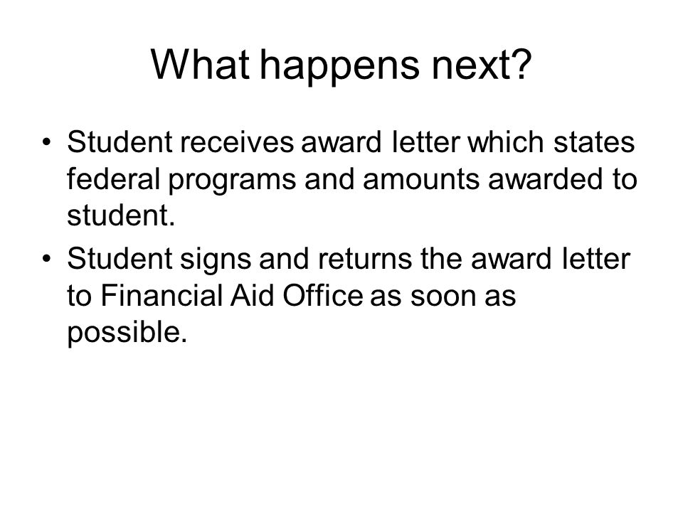 Transfer Students and Financial Aid Students transferring to UL Lafayette from another institution or students who attended another institution previously and are applying for financial aid must: –Submit a copy of their Student Aid Report and a complete grade transcript from the last school attended.