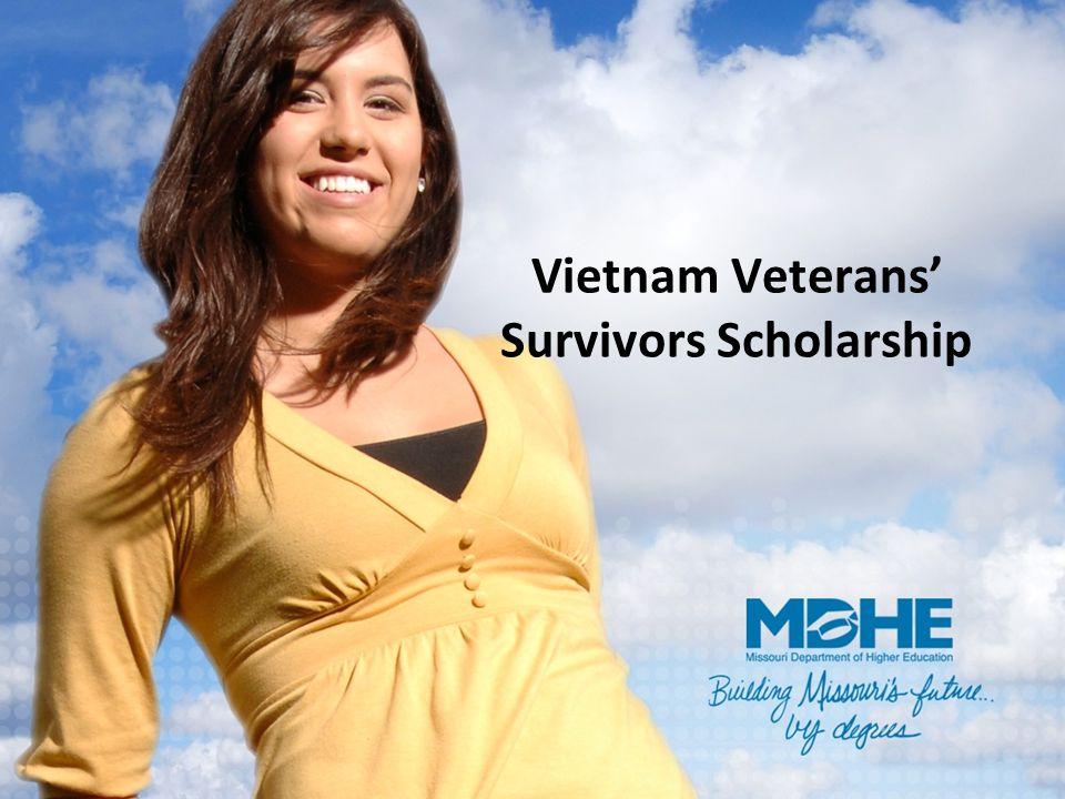Vietnam Veterans' Survivors Scholarship