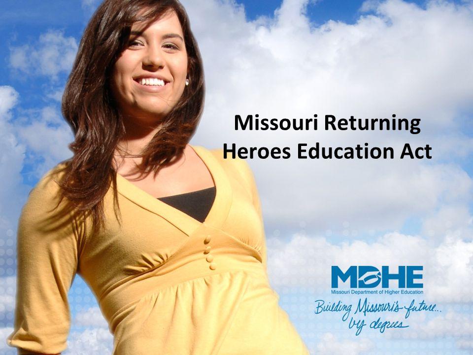 Missouri Returning Heroes Education Act