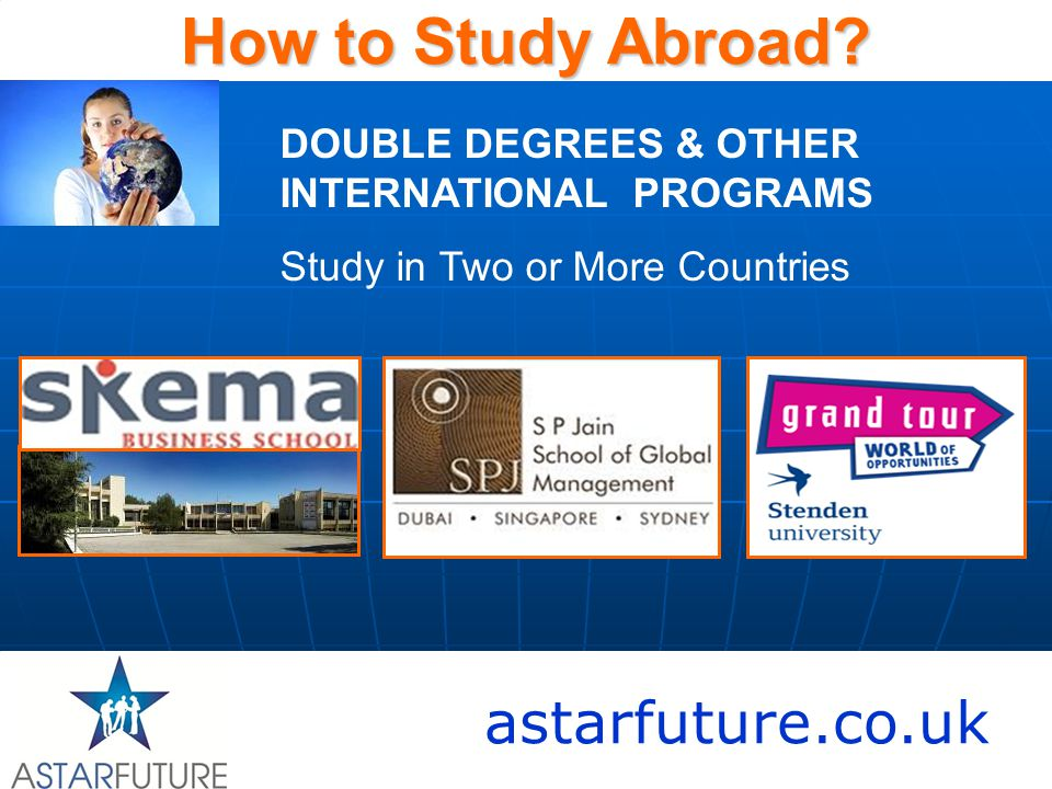 astarfuture.co.uk How to Study Abroad.