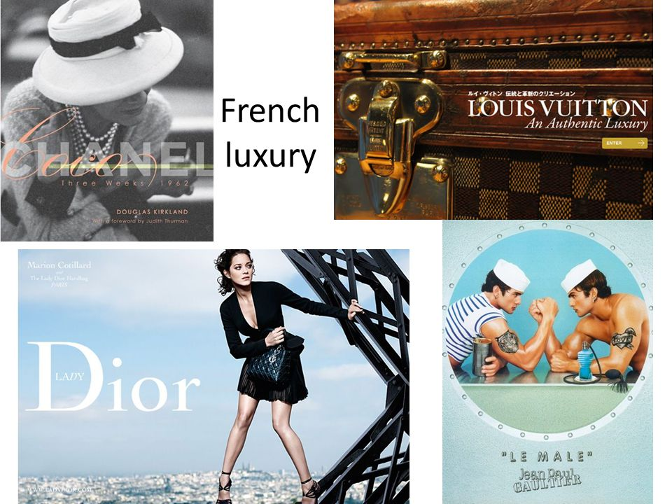 French luxury