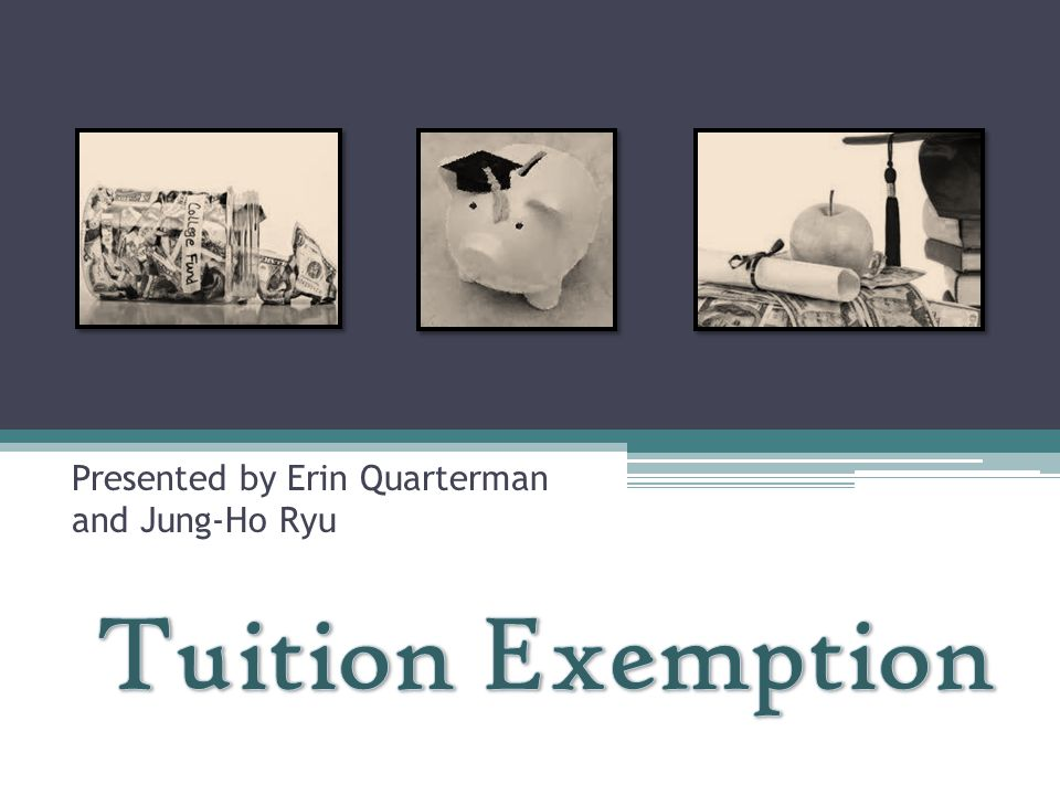 What is Tuition Exemption.