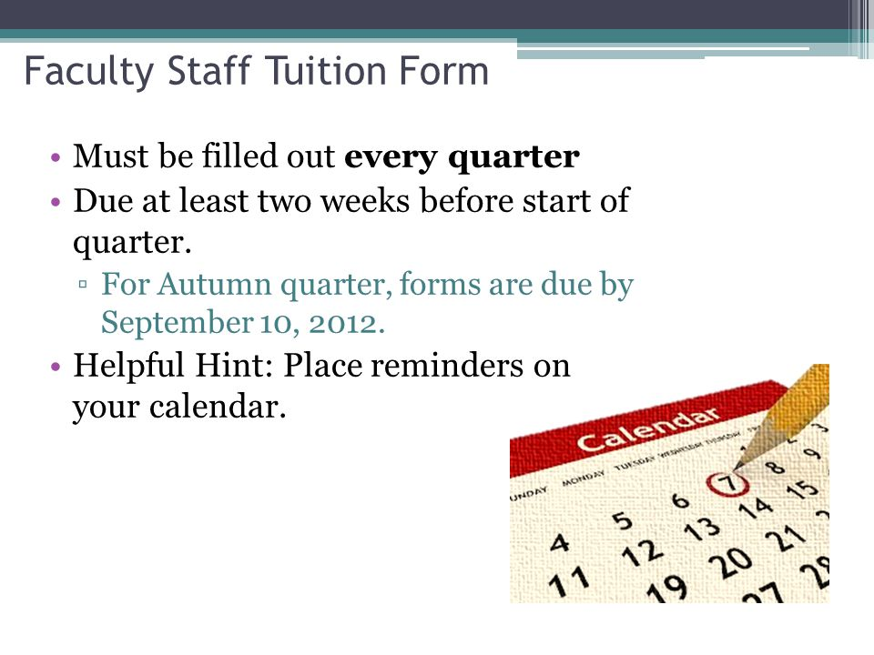 Registering for Class  Tuition Exemption registration occurs on the third day of class at midnight.