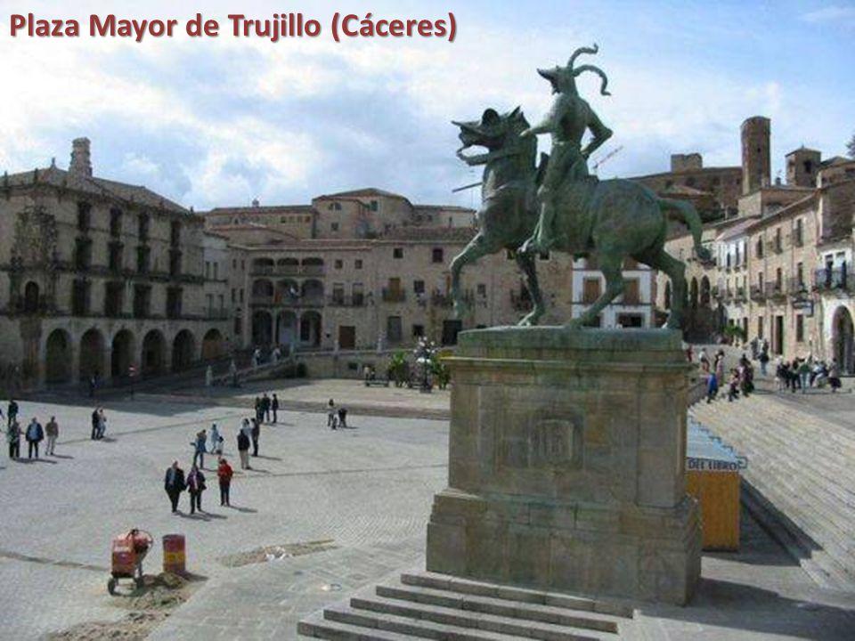Plaza Mayor de Riaza (Segovia)