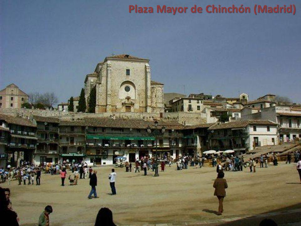 Plaza Mayor de Chinchón (Madrid)