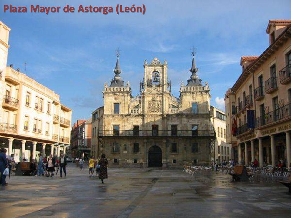 Plaza Mayor de Astorga (León)