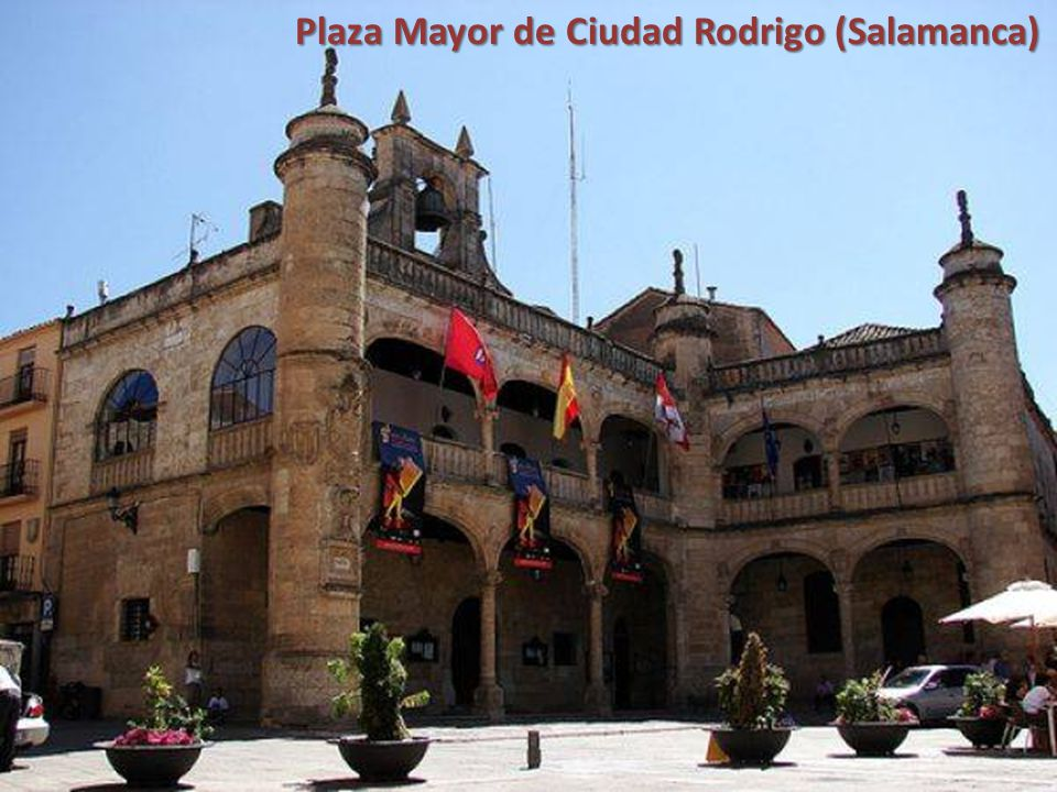 Plaza Mayor de Ciudad Rodrigo (Salamanca)