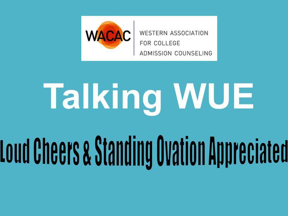 Talking WUE