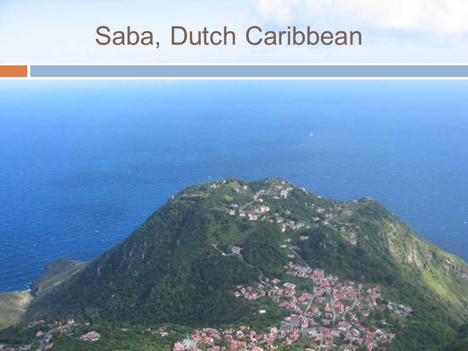 Saba, Dutch Caribbean