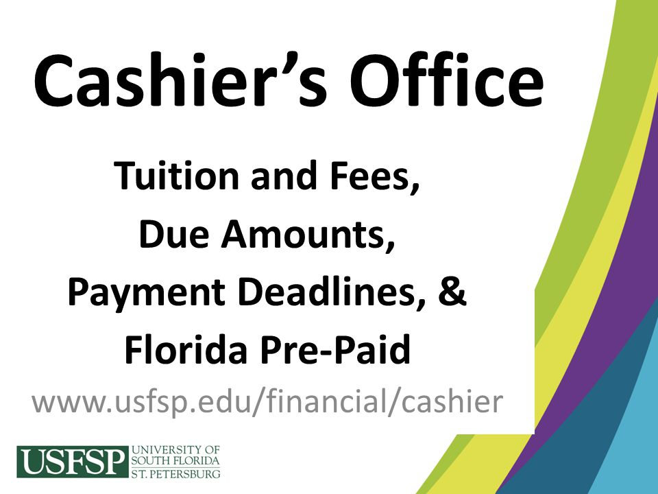 Florida Pre-Paid Program Automatically updated using student's SSN.