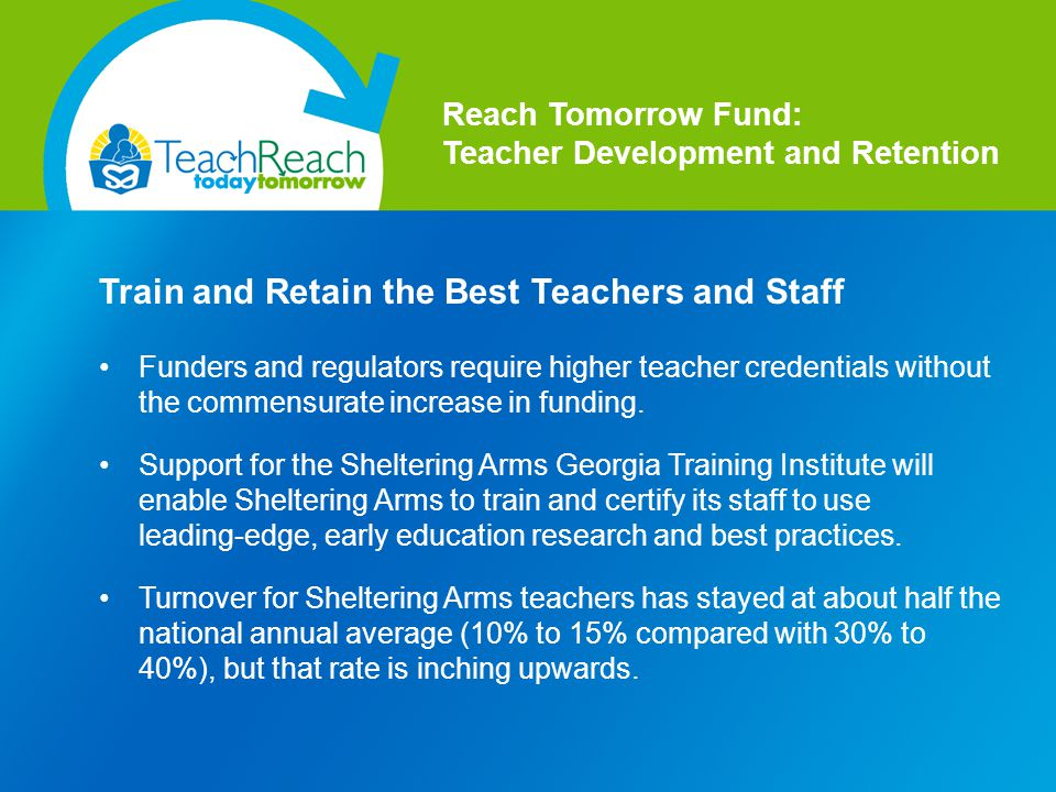 Funders and regulators require higher teacher credentials without the commensurate increase in funding.