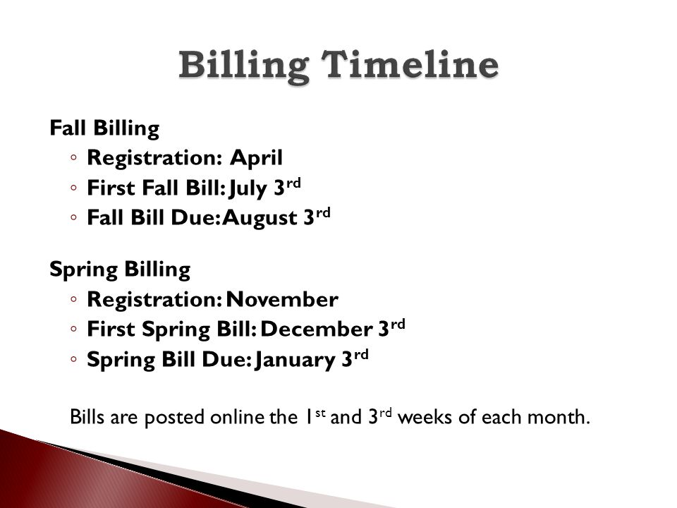 Fall 2014 Spring 2015 Deposit: $ 200.00 CR Orientation Fee: $ 100.00 Flat Tuition Rate:$ 15,014.00 $ 15,014.00 Standard Room Rate:$ 2,703.00 $ 2,703.00 Meal Plan (unlimited):$ 2,677.00 $ 2,677.00 Technology Fee:$ 525.00 $ 525.00 ---------------- --------------- Total Per Semester:$ 20,819.00 $20,919.00