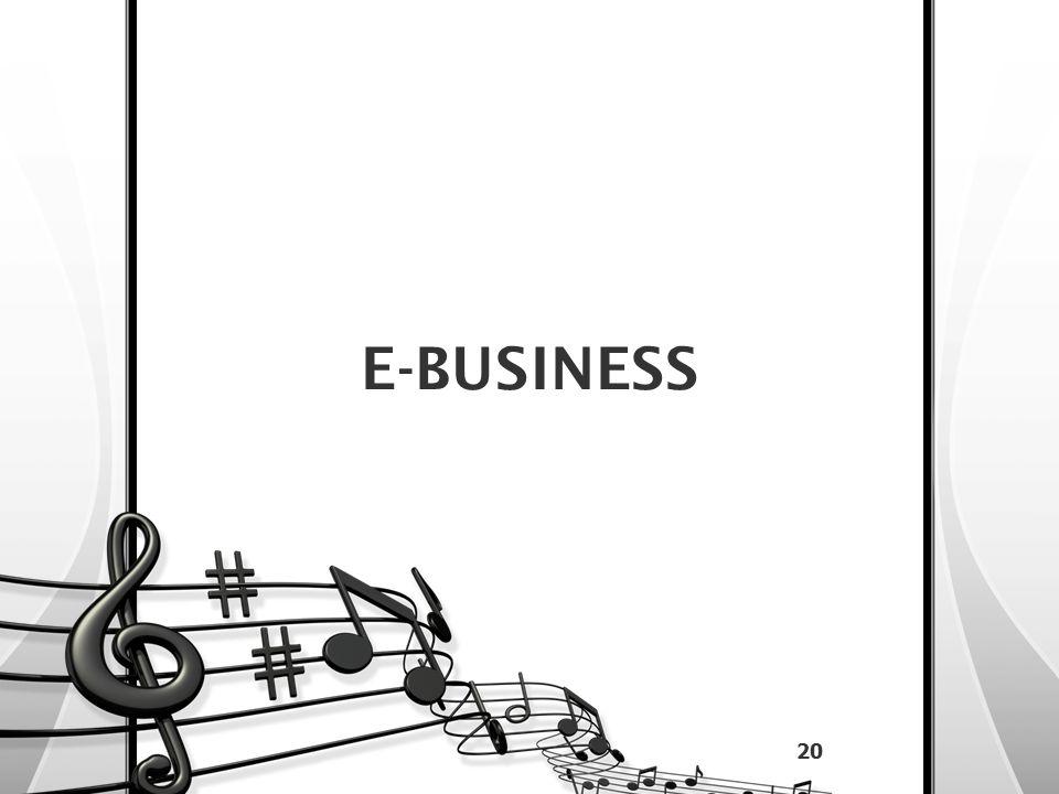 E-BUSINESS 20