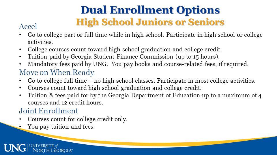Dual Enrollment Why.