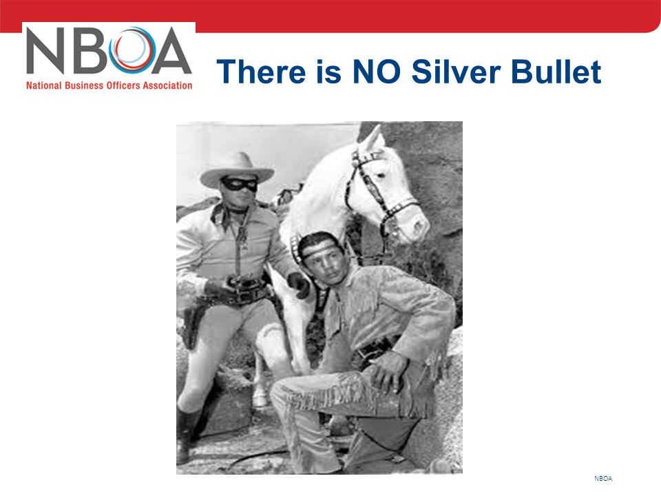 NBOA There is NO Silver Bullet