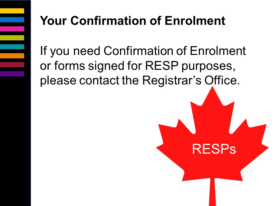 If you haven't already, please apply for OSAP or other provincial student aid program immediately.