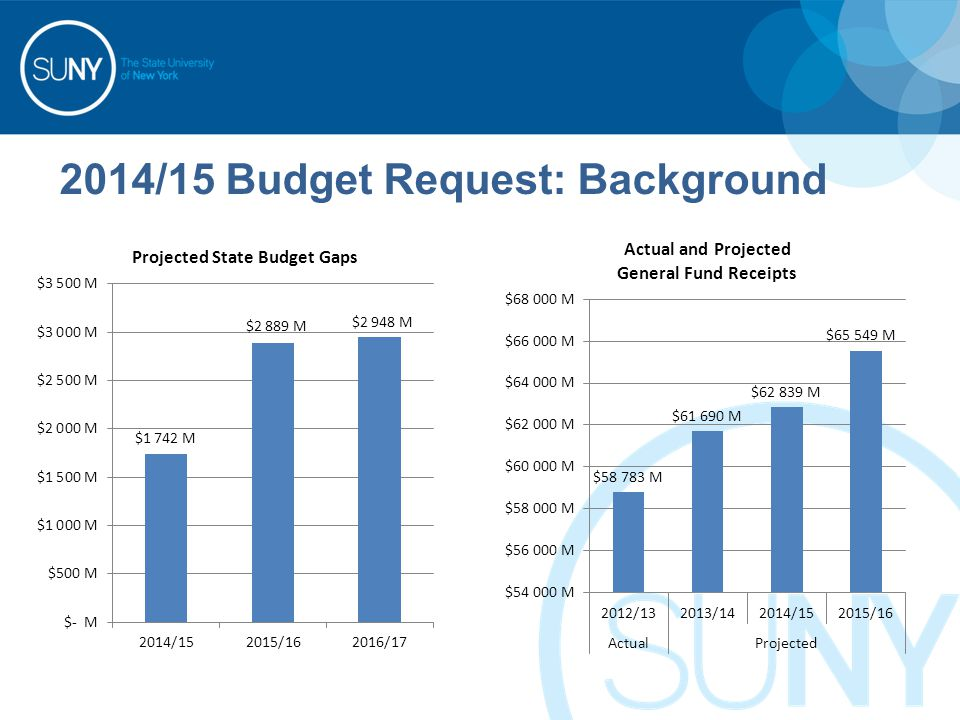2014/15 Budget Request: Background