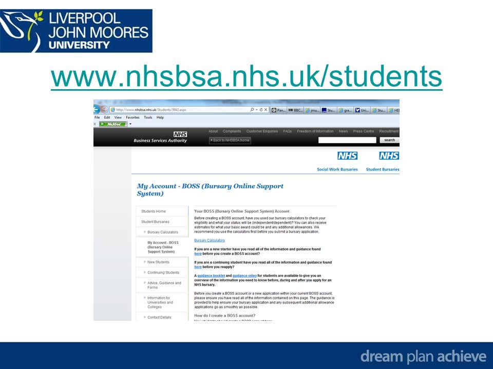 www.nhsbsa.nhs.uk/students