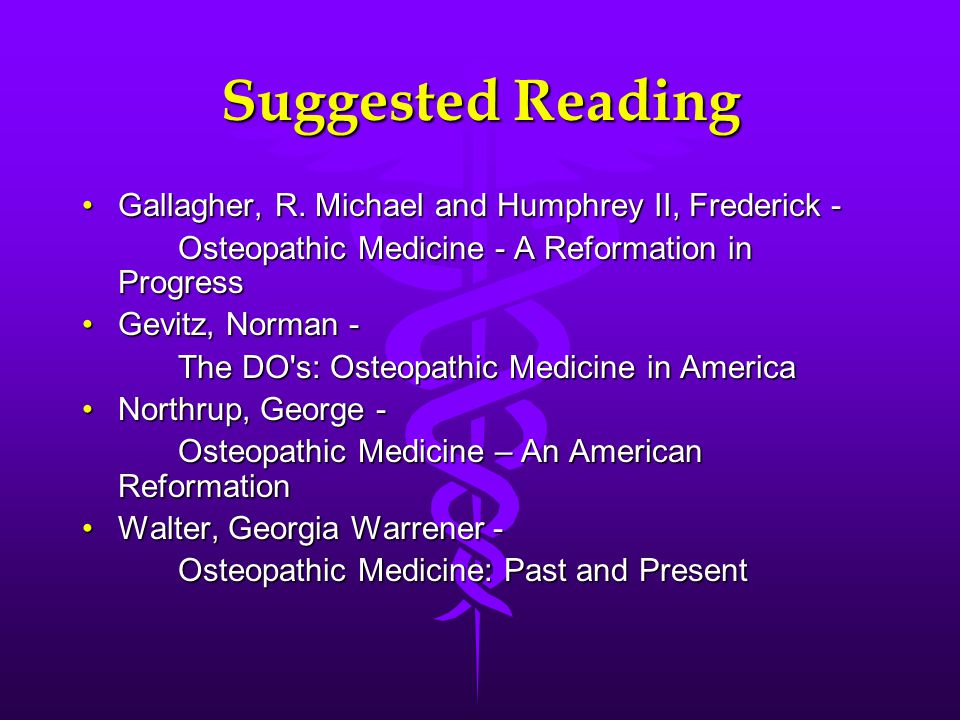 Suggested Reading Gallagher, R. Michael and Humphrey II, Frederick ‑Gallagher, R.