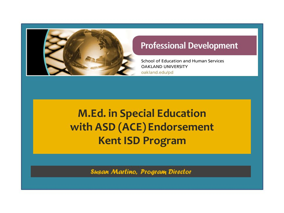 Special Education Electives The KISD program requires 8 credits of approved electives.