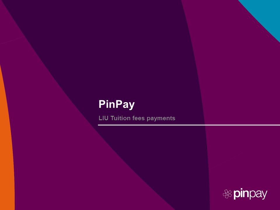 PinPay LIU Tuition fees payments