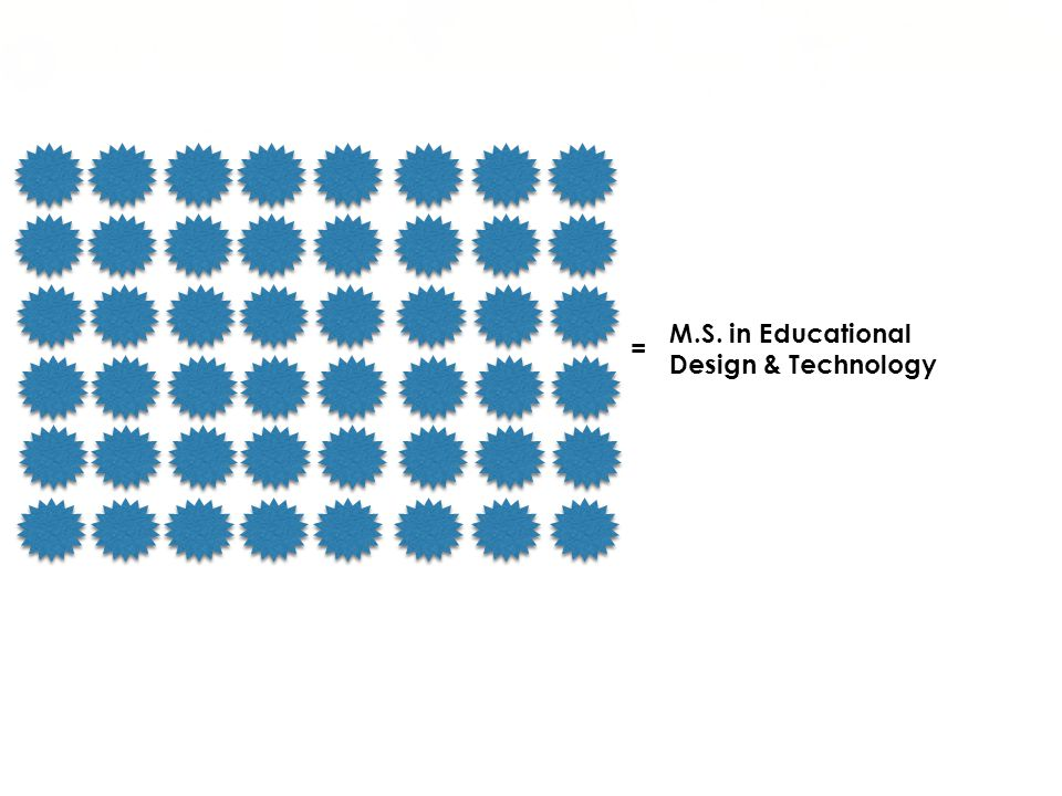 = M.S. in Educational Design & Technology