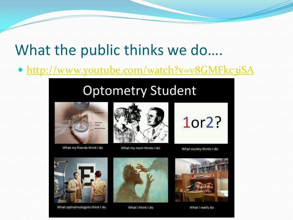 What the public thinks we do…. http://www.youtube.com/watch v=v8GMFkc3iSA