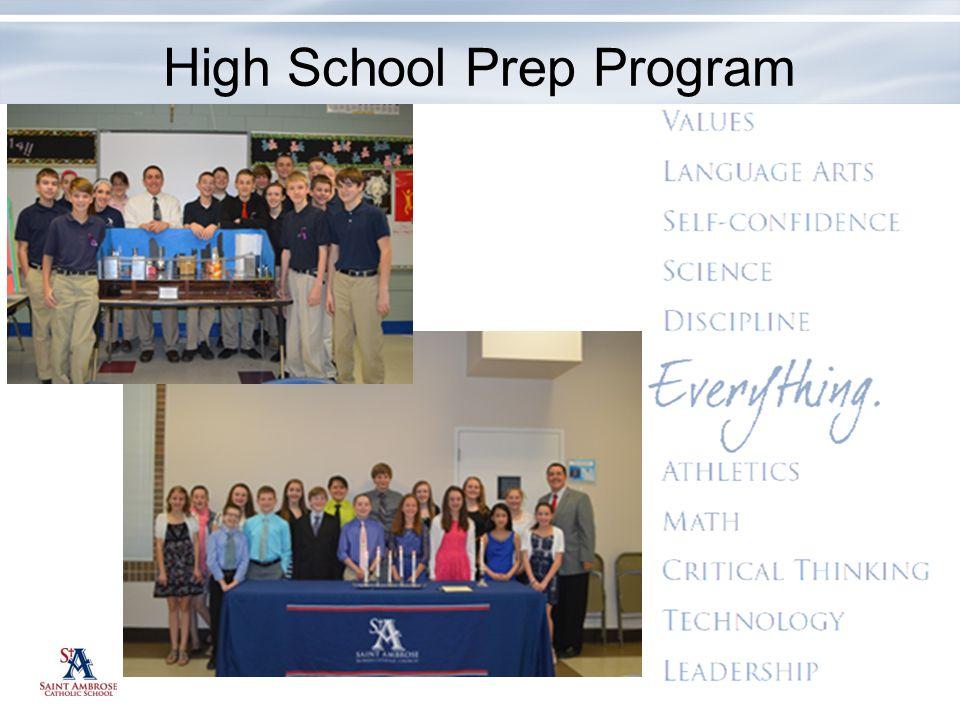 High School Prep Program