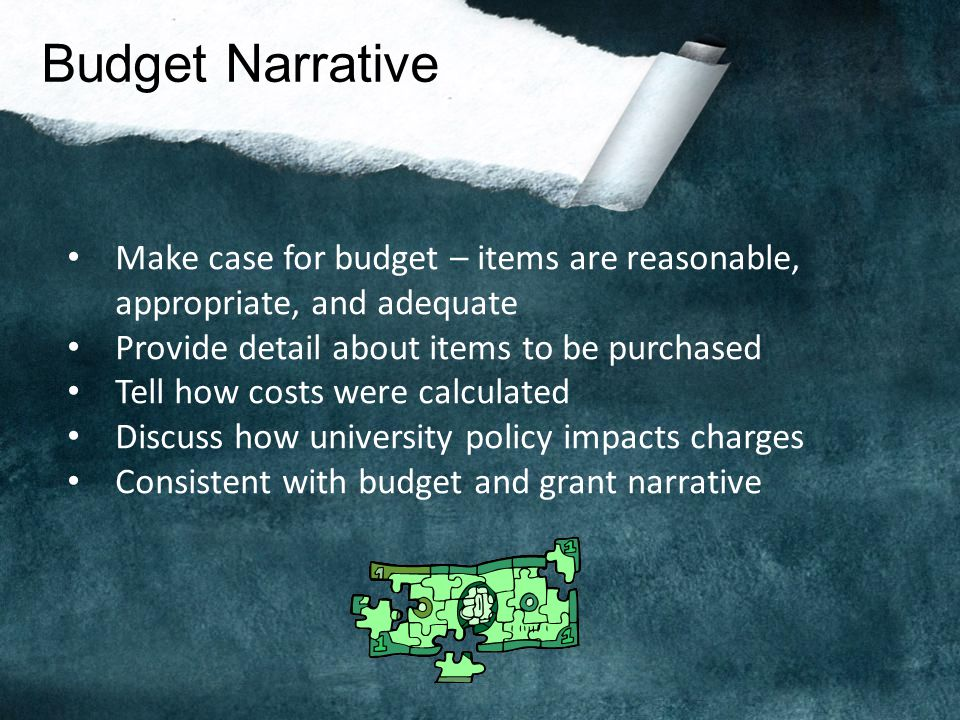 Cost Share Is it required? - Rarely for NSF; ambiguous for NEH; often for state - Must track in a separate account - Must be an allowable direct cost