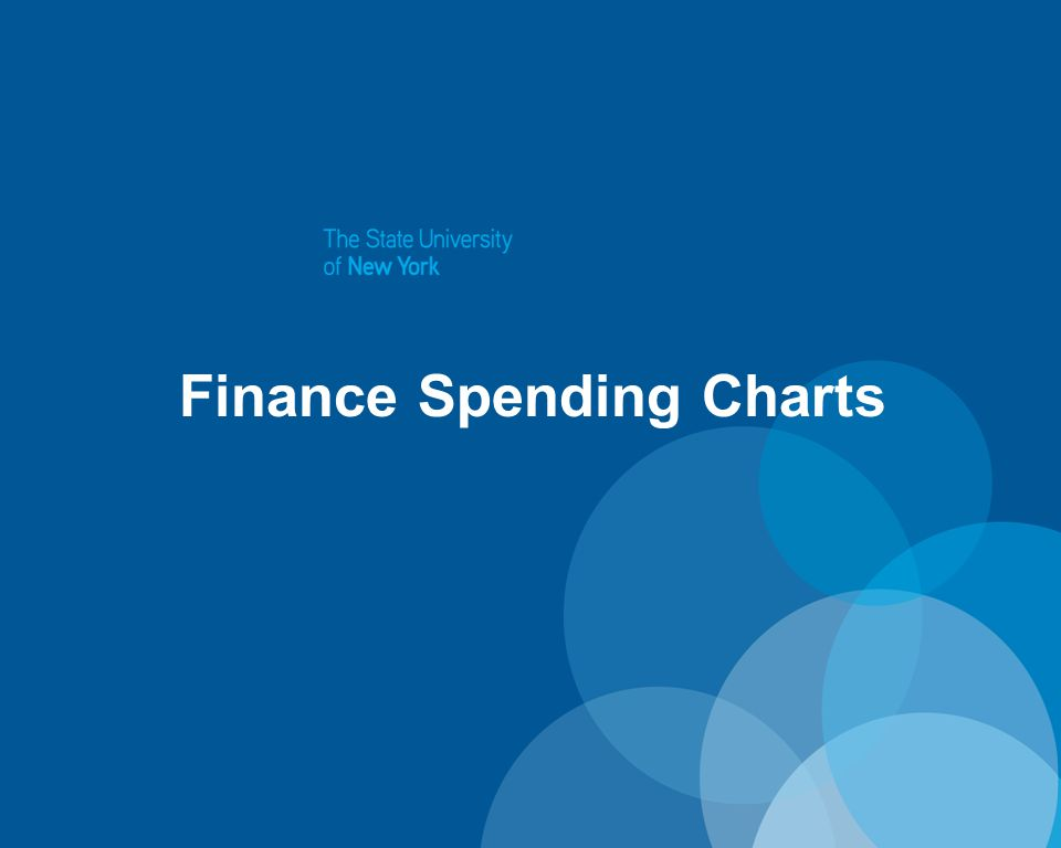 Finance Spending Charts