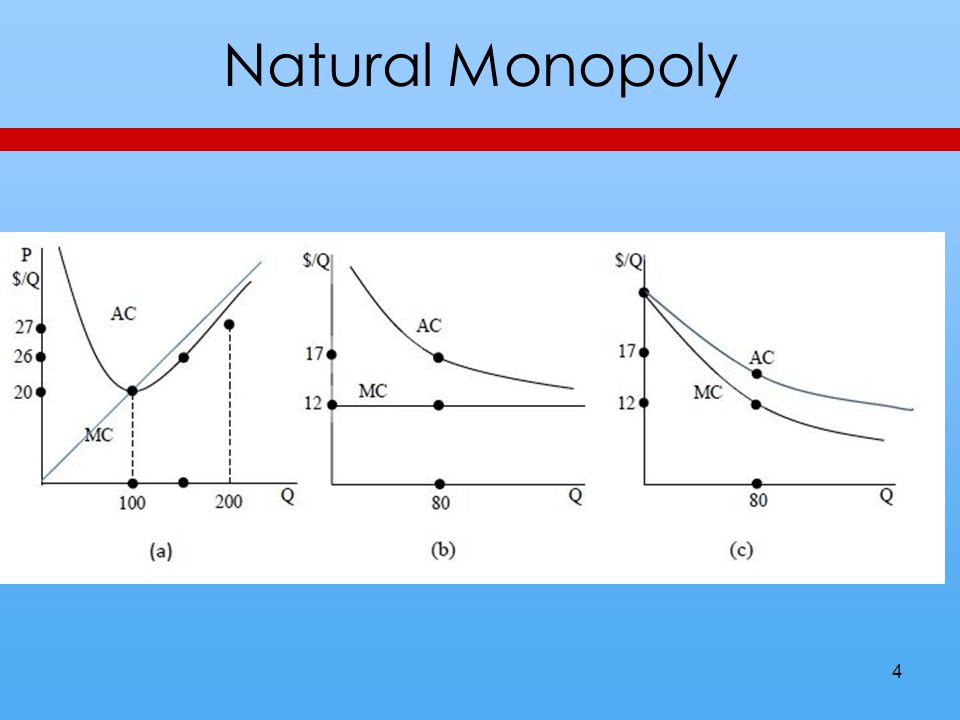 Natural Monopoly 4