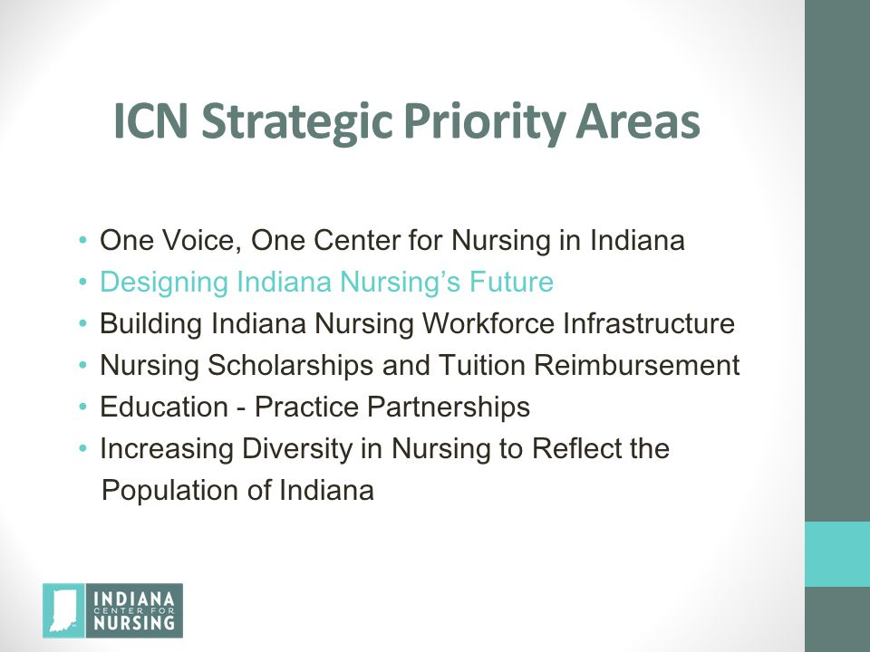 Promising Practices are Increasing All across the US nurses are utilizing nursing research and evidence based practice to change current practice resulting in improved patient outcomes More healthcare organizations nationwide are supporting nurses in their research and practice Indiana healthcare employers and schools of nursing are participating in more and more in bringing nursing to the table