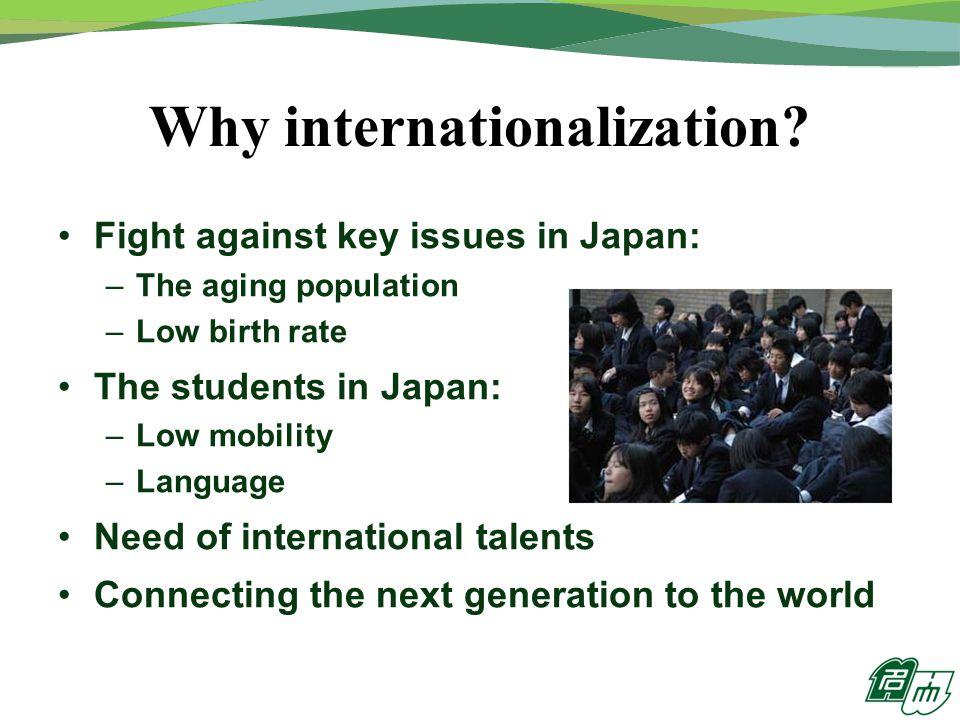 Why internationalization.