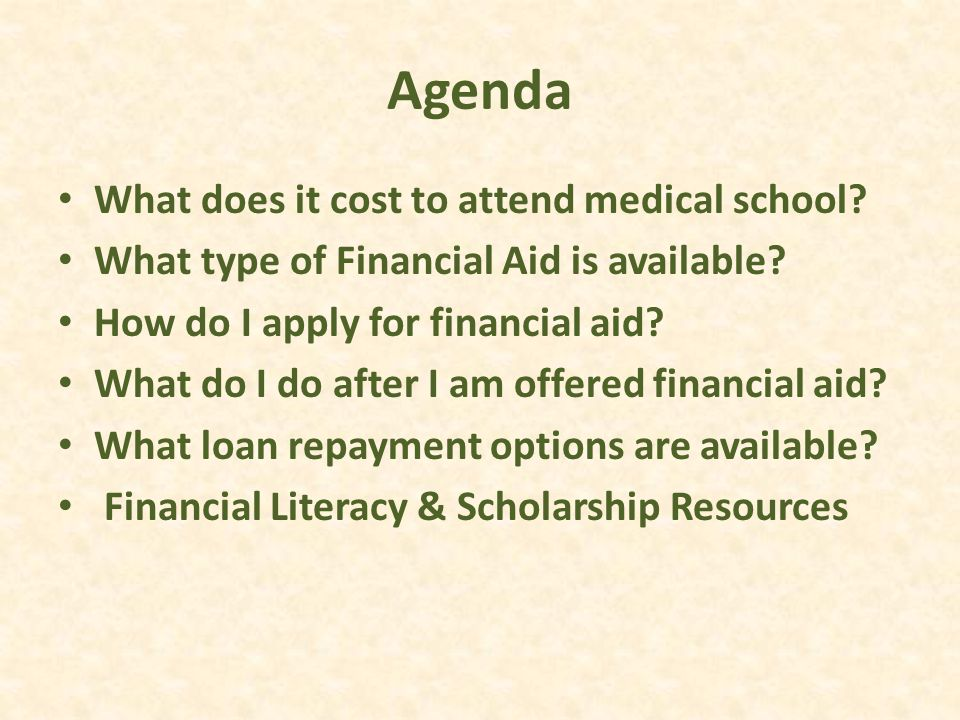What Does It Cost to Attend Medical School?