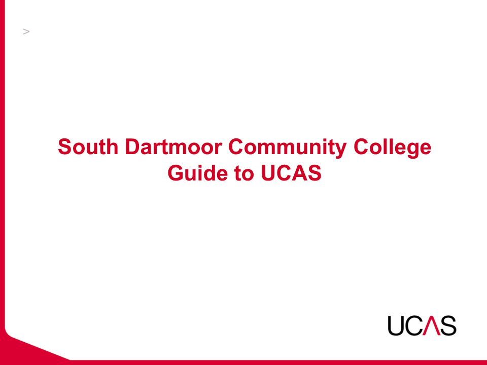 The role of UCAS  UCAS exists to bring clarity and cohesion to the process of applying for a full-time UK HE course  UCAS is also an important source of factual information about choosing what and where to study
