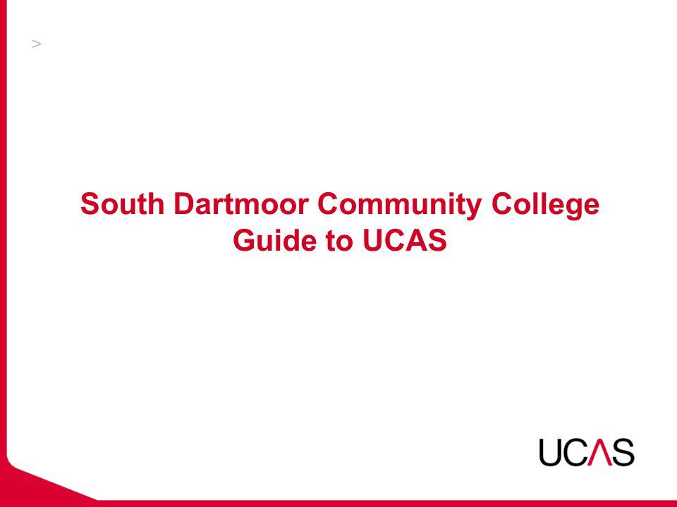 South Dartmoor Community College Guide to UCAS