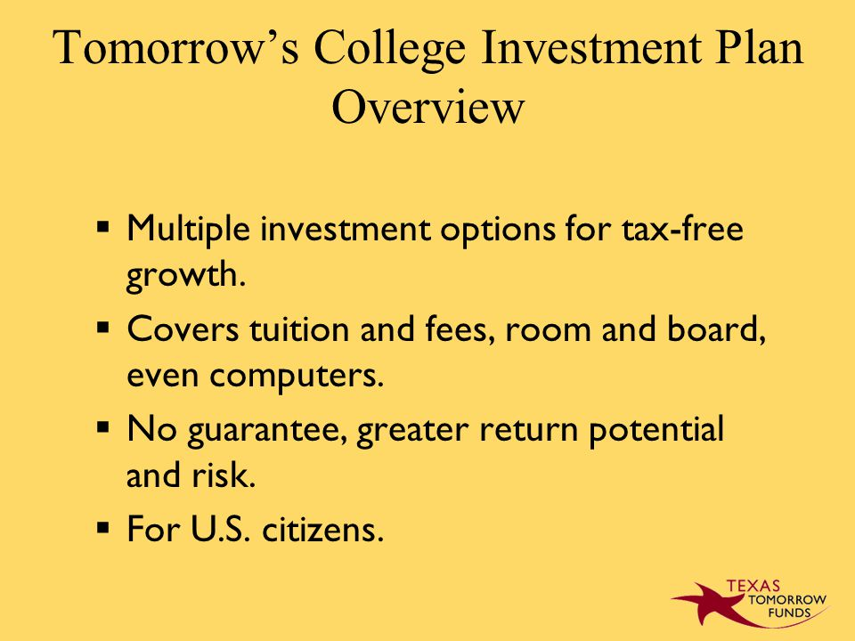  Multiple investment options for tax-free growth.