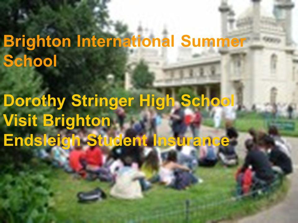 Brighton International Summer School Dorothy Stringer High School Visit Brighton Endsleigh Student Insurance