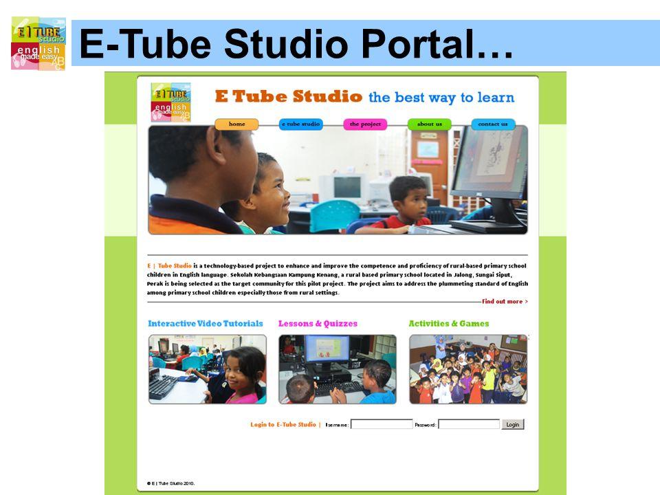 E-Tube Studio Portal…