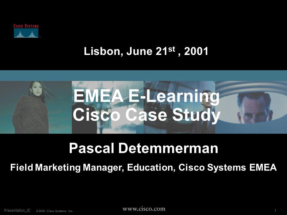 1 COLE AUG 00 © 1999, Cisco Systems, Inc.